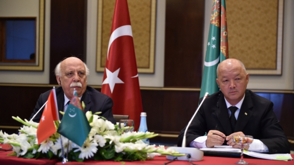Minister Avcı attends Turkish-Turkmen Council Meeting