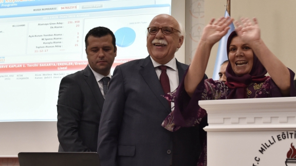 Minister Avcı: Teachers are unforgettable