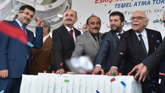 Minister Avcı attends ground breaking ceremony of Eskişehir City Hospital